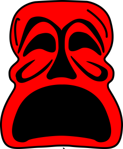 red-mask